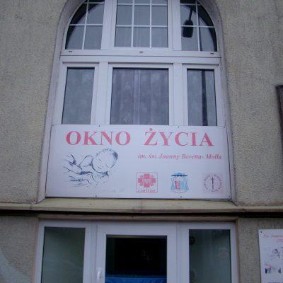Okno Życia w Domu Samotniej Matki w Koszalinie