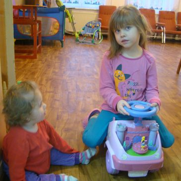 Zajęcia dla dzieci w Domu Samotnej Matki